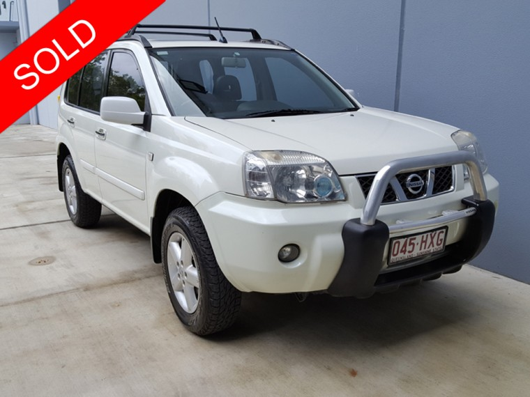 sold 2004 nissan x trail auto used vehicle sales. Black Bedroom Furniture Sets. Home Design Ideas
