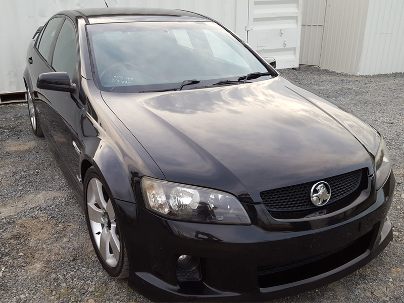 Ve V8 Ss 6 Speed Manual Holden Commodore Black 2006 Used